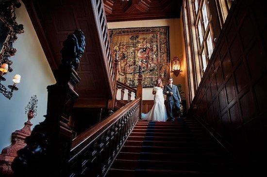 Schlosshotel Kronberg: Wonderful stairs