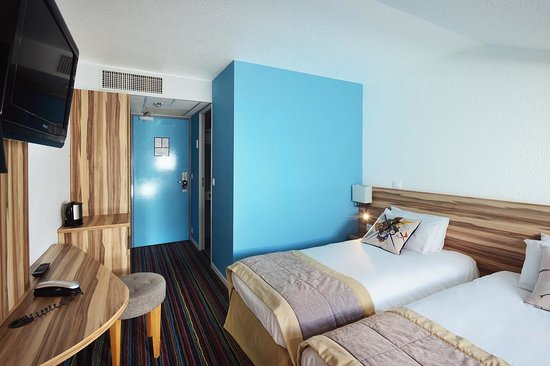 Hotel Mercure Lisieux : chambre twin