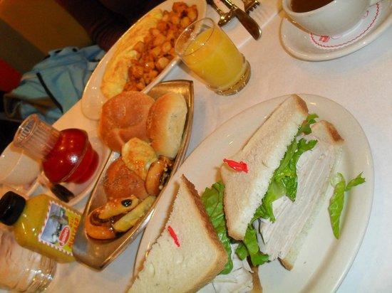 Junior's Restaurant : Sandwich auf Wunsch ;)