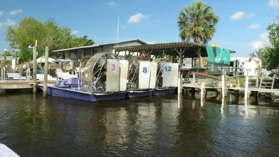 Air Boat USA: Totch's Everglades from the water