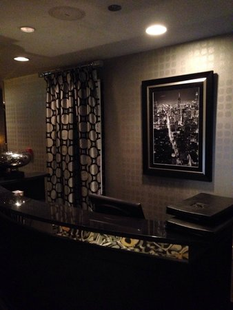 Morton's The Steakhouse - Chicago - Wacker Place: Parte interna
