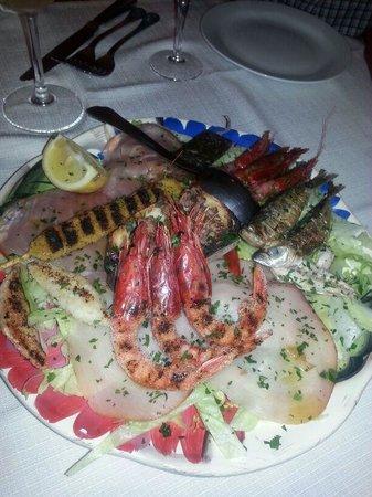 Al Vicoletto: antipasto di pesce. . che meraviglia