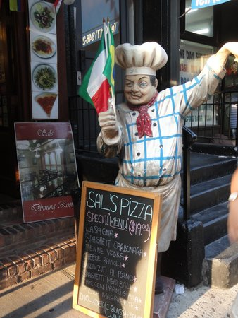 City Food Tours and Events: Sal's Pizza in Little Italy
