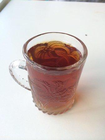 Uni Kebab: cay tea