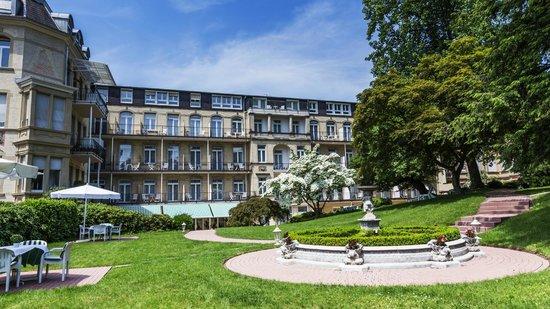 Hotel am Sophienpark: Parkseite