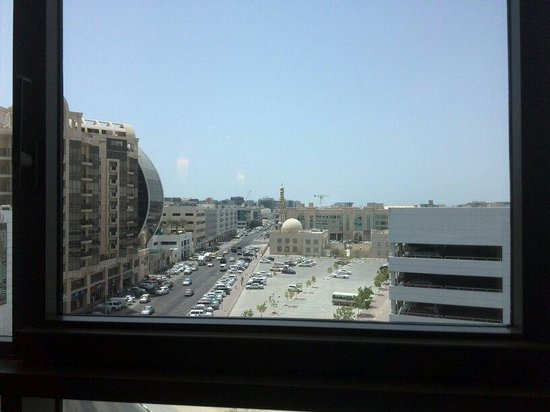 Jumeirah Creekside Hotel: View from room