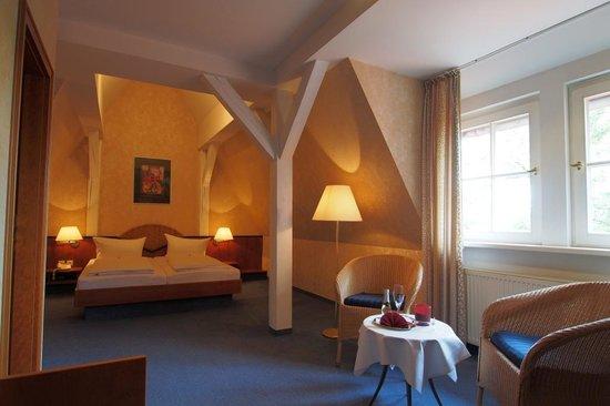 Schlossvilla Derenburg: Zimmerbeispiel