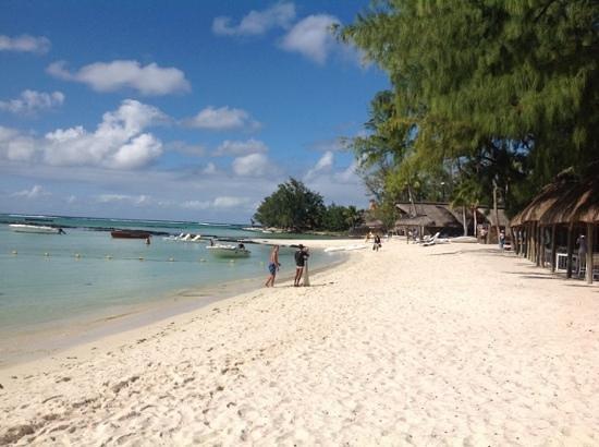 Ambre Resort & Spa : The beach