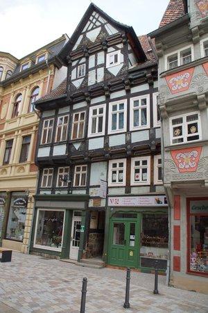 Altstadt Quedlinburg: Fachwerkhäuser