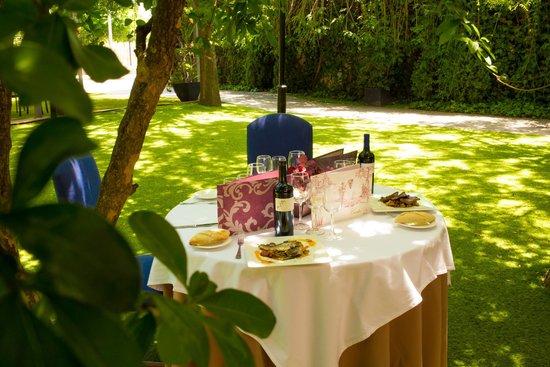 Restaurante Camaura: terraza