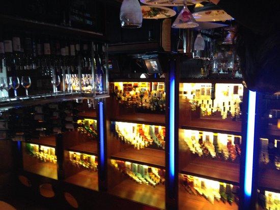 Ocean Prime - Tampa : Bar Wall