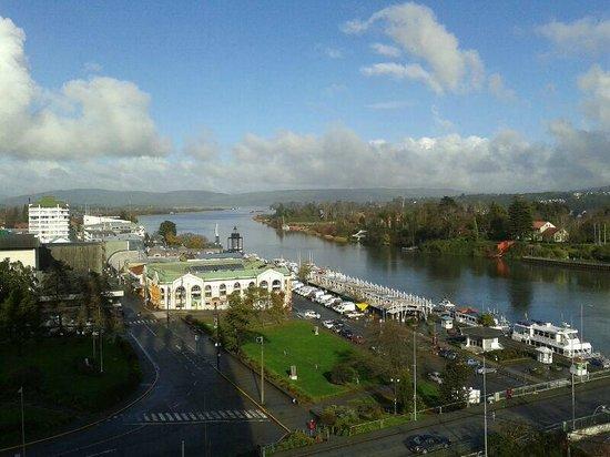 Hotel Dreams Valdivia : Vista mientras se desayuna