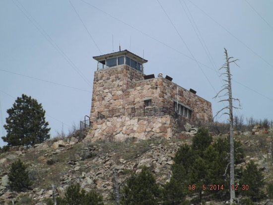 Peter Norbeck Scenic Byway : Fire Tower off Needles Hwy