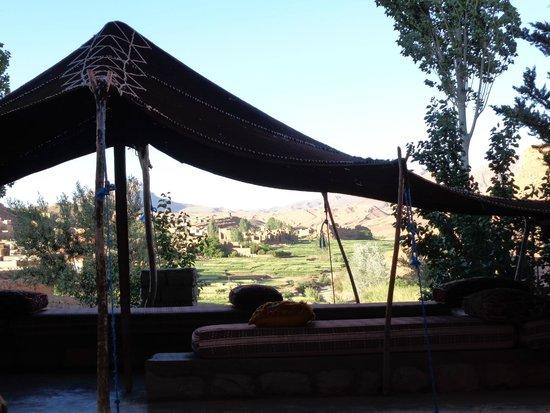 Auberge Bougafer : Vue de la terrasse