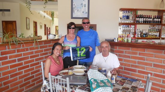 Hosteria Bella Napoli : with the owners