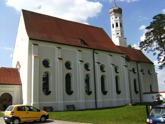 """St. Koloman: Wallfahrtskirche """"St. Coloman"""" bei Schwangau"""