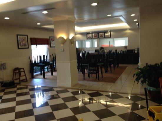BEST WESTERN Bar Harbour Inn: Breakfast Area