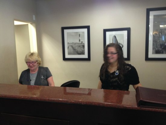 BEST WESTERN Bar Harbour Inn: Reception Team