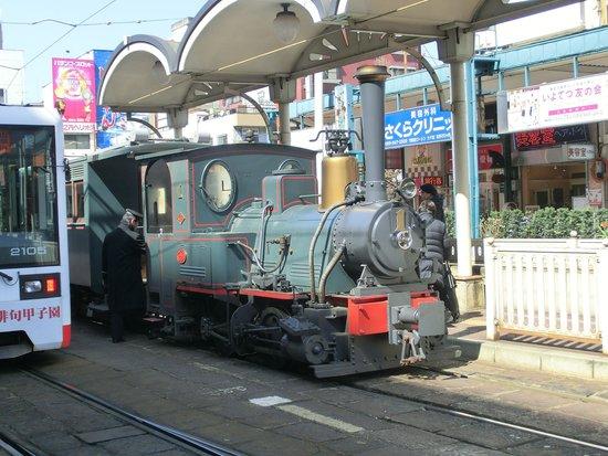 Bocchan Train: 坊ちゃん列車外観