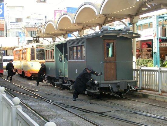 Bocchan Train: 方向転換中