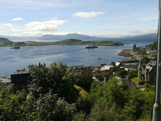 "Glenrigh Guest House: Go to the ""Coliseum"" on top of the hill overlooking Oban.  Gorgeous views"