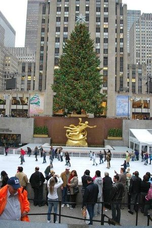 Rockefeller Center : Christmas time