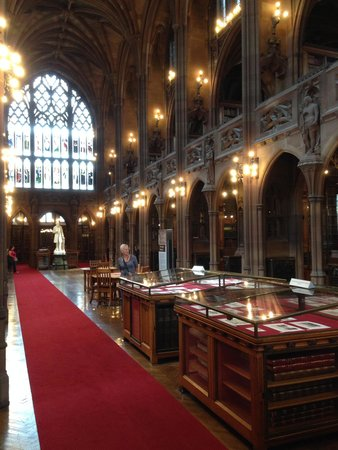 The John Rylands Library: main reading room