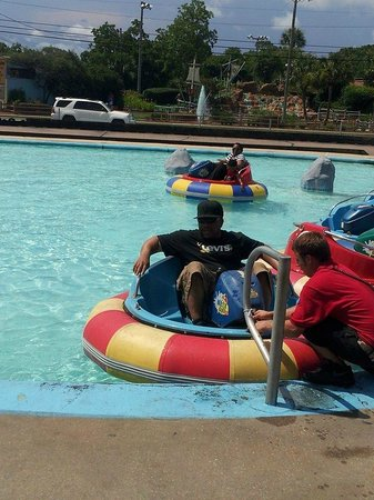 Race City PCB: Water Bumper Boats