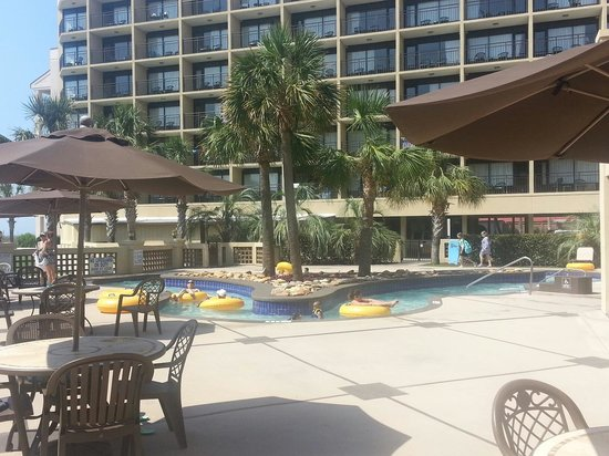 Springmaid Oceanfront Resort Myrtle Beach : Live Oaks Tower - Lazy River