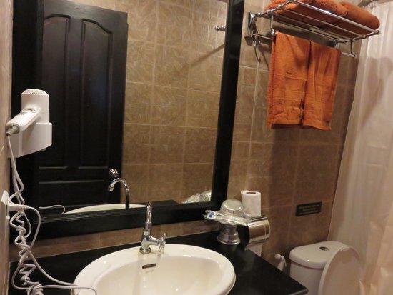 Golden Butterfly Villa: washroom amenities