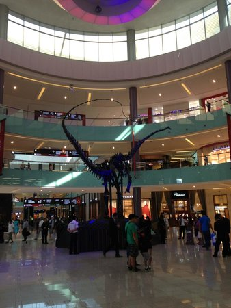 The Dubai Mall : entrada