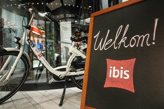 Ibis Leiden Centre: Rent a bike
