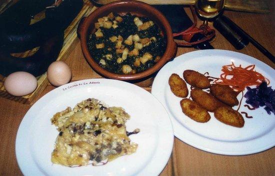 Comida casera fotograf a de la cocina de la abuela san for Cocina casera de la abuela