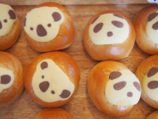 Masuya Bakery Bonheur Masuya : コアラパンとパンダパン