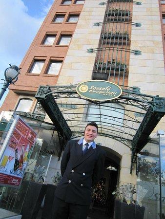 Exe Santafe Boutique Hotel : Hotel Entrance
