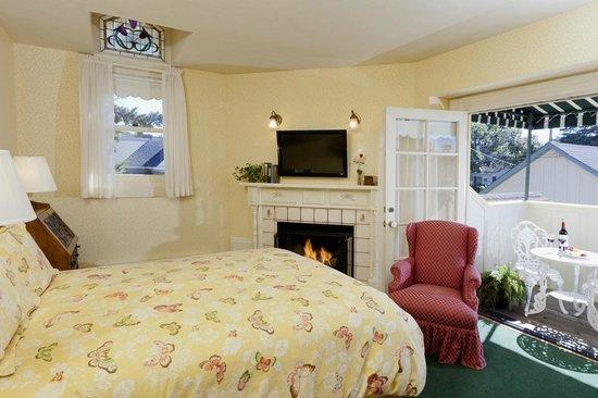 Gosby House Inn - A Four Sisters Inn: Room 11 with small balcony