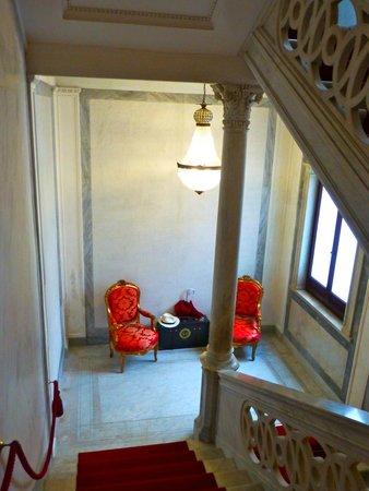 Hotel Ai Reali di Venezia: Great stair