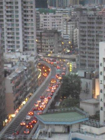 Dorsett Mongkok Hong Kong: View from our room on the 16th floor