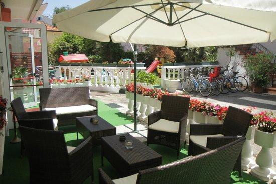 Hotel Smeraldo: terrasse si agréable
