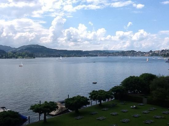 Seehotel Hermitage Luzern: luzern lake