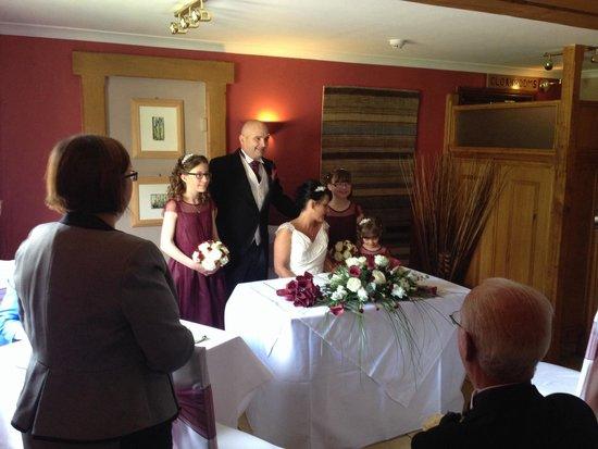 Bell Inn Stilton: Wedding venue