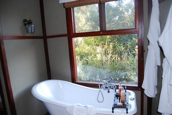 Hamiltons Tented Safari Camp: bathroom