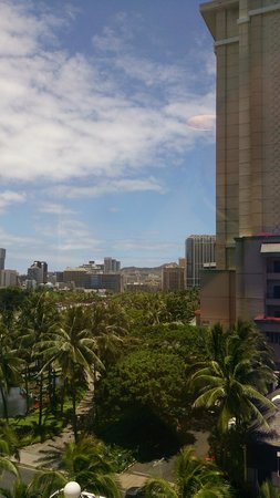 Aqua Palms Waikiki : Vista