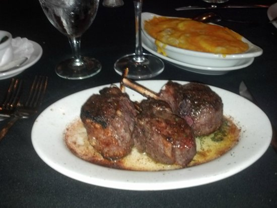 Ruth's Chris Steak House: Best Lamb Ever...from Well's Ranch SD
