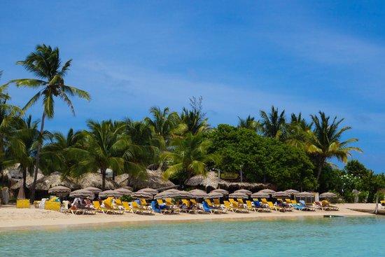 Captain Alan's Three Island Snorkeling Adventure: Pinel Island