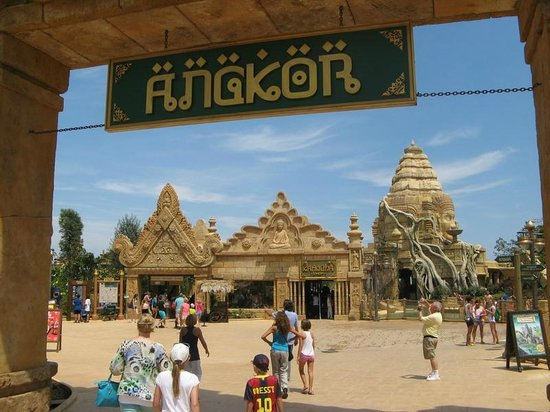 PortAventura Park: Angkor was a brand new ride