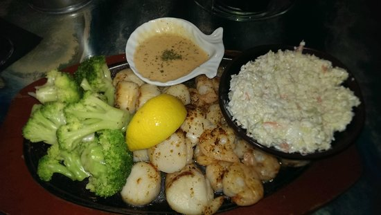Port Of Call Restaurant: Broiled combo