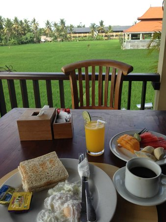 Biyukukung Suites and Spa: Nice breakfast.