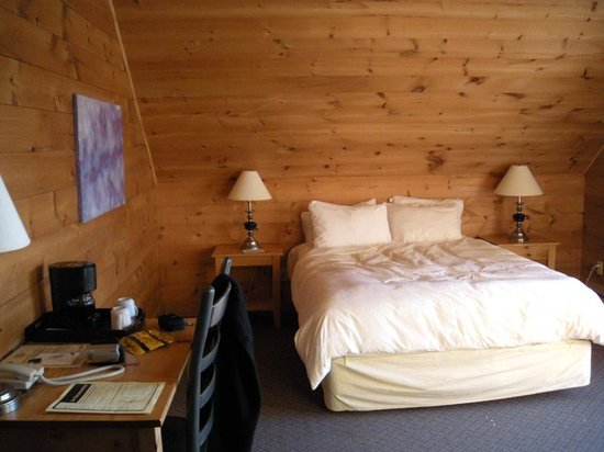 Hotel Sacacomie : Chambre
