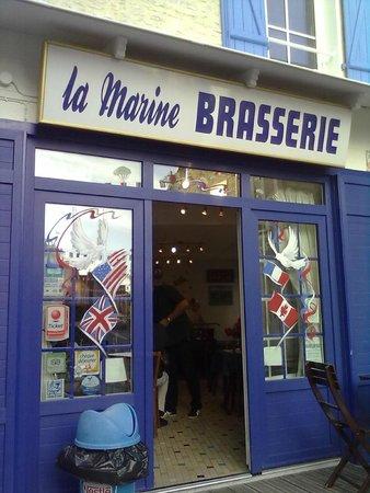 Brasserie la marine: 70 Jahre D-day